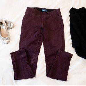 Old Navy Plum Pull On Jeggings - Sz 6